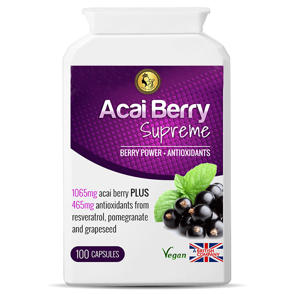 Acai Berry Supreme | Antioxidants | Slay Fitness Store