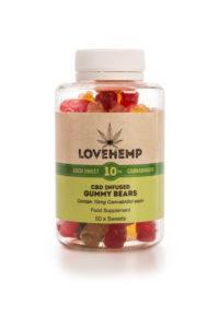 CBD Gummy Bears – 10mg CBD per Bear - Slay Fitness Store