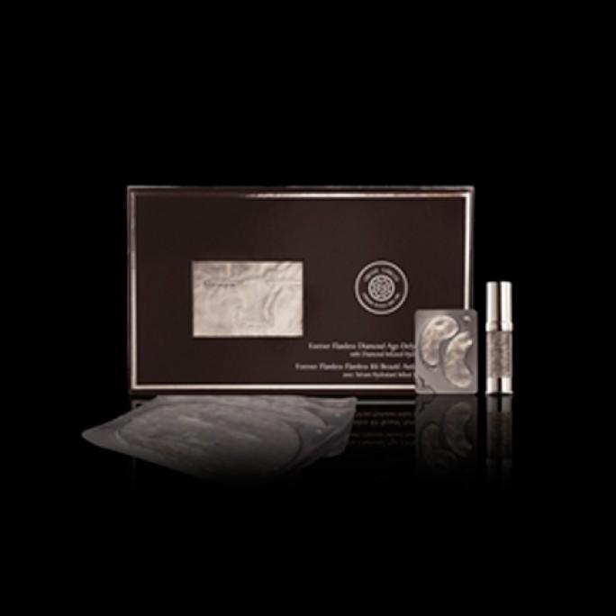 Diamond Age-Defying Beauty Kit (Facial Masks, Eye Masks, Hydrating Serum)